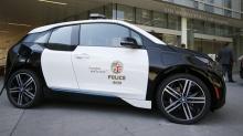 """ตำรวจแอลเอเลือก """"BMW i3"""" เข้าฟลีตรถสายตรวจ"""