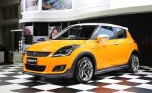 เผยโฉม Suzuki Swift แต่งพิเศษสีเหลืองในงาน ออโต้ซาลอน 2016
