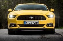 Ford Mustang เบียดเจ้าถิ่นขึ้นเป็นรถสปอร์ตยอดนิยมในเยอรมนี