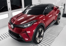 Toyota C-HR รถขุมพลังไฮบริด 2016 นี้เจอกัน!!!