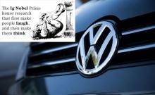 """เจ็บจี๊ด! Volkswagen คว้ารางวัล """"อิก โนเบล"""" จากกรณีบิดเบือนค่ามลพิษ"""