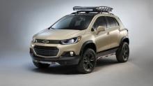 Chevrolet TRAX Active Concept เปิดตัวครั้งแรก