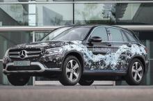 เผยโฉม !! Mercedes-Benz GLC F-CELL รถไฮโดรเจนแบบปลั๊กอิน