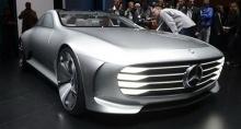 ได้เห็นแน่นอน รถพลังไฟฟ้าของ Mercedes-Benz คู่แข่ง Tesla Model S