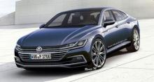 ภาพการออกแบบ Volkswagen Passat CC ซีดานหรูรุ่นใหม่