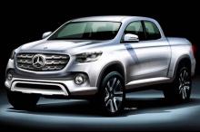 Mercedes-Benz เตรียมเปิดตัวรถกระบะสัปดาห์หน้า