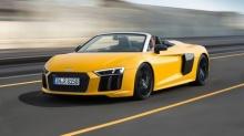 2017 Audi R8 V10 Spyder เคาะราคา ราวๆ 6 ล้านบาท
