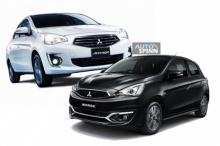 Mitsubishi New Attrage และ New Mirage เสริมออพชั่นปรับราคาเริ่มที่ 4 แสนกว่า