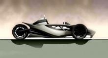 รอลุ้น !! Black Mamba Concept รถ 3 ล้อพลังงานไฟฟ้า