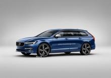 New Volvo V60 รุ่นใหม่ บึกบึนมากขึ้น