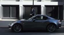 Mazda Roadster RF หลังคาแข็งเปิดตัวในญี่ปุ่น