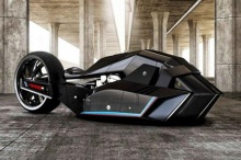 ชมภาพ! BMW-TITAN คอนเซปท์รถมอเตอร์ไซค์โลกอนาคต