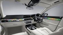 แนว !! BMW เปิดตัว 740Li ตกแต่งภายในด้วยกราฟฟิกลวดลายชนเผ่า
