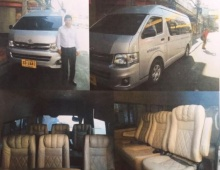 บริการรถตู้ VIP 10ที่นั่ง และ15ที่นั่ง คนขับแต่งกายสุภาพ ตามใจลูกค้า ราคาย่อมเยาว์