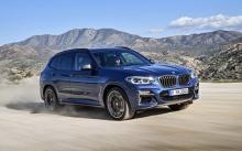 BMW เปิดตัวเอ็กซ์ 3 รุ่นใหม่ พร้อมรุ่นท็อป จะฮอตแค่ไหนกัน