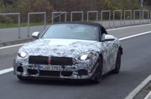 สปายช็อต BMW Z4 รุ่นใหม่ ทดสอบสมรรถนะในเนอร์เบิร์กริง