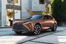 Lexus LF-1 Limitless Concept แฟล็กชิพเอสยูวีแห่งอนาคต