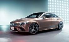 เปิดตัว Mercedes-Benz A-Class L Sedan