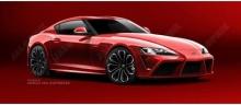 ว่ากันว่าภาพร่างนี้ใกล้เคียงที่สุด 2017 Toyota Supra