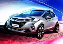 Honda แย้มภาพ WR-V รถครอสโอเวอร์ซับคอมแพกต์รุ่นใหม่