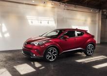 Toyota เปิดตัว C-HR ลุยตลาดอเมริกาเหนือ
