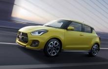 เผยโฉม Suzuki Swift Sport ขุมพลัง 1.4 ลิตร เทอร์โบ