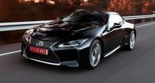Lexus LC F สปอร์ตตัวแรงรุ่นใหม่ ขุมพลังไฮบริดเต็มระบบ