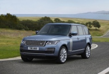 เปิดตัว 2018 Range Rover ปรับโฉมใหม่