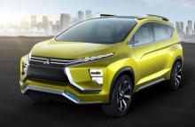 Mitsubishi XM Concept รถต้นแบบว่าที่เอสยูวีเจนฯ ใหม่