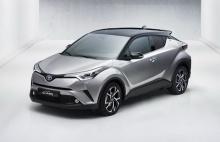 Toyota เชื่อ C-HR ไฮบริดจะเป็นรถยอดฮิตติดลมบนแน่นอน