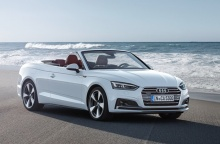 เผยโฉม 2018 Audi A5 Cabriolet เน้นความสง่างาม