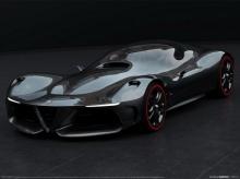 ชมภาพการออกแบบ Alfa Romeo GTL ว่าที่รถไฮเปอร์คาร์รุ่นพิเศษ
