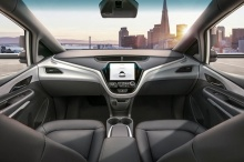 เผยภาพรถขับขี่อัตโนมัติของ GM ไม่มีพวงมาลัยและแป้นเหยียบ