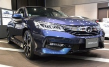 ใหม่ Honda Accord Hybrid โฉมใหม่มาพร้อมเกียร์แบบปุ่ม