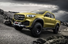 เผยโฉม! Mercedes-Benz Concept X-Class หรูก็ได้ ลุยก็ดี