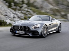 สุดอลังการณ์กับ สปอร์ตโรสเตอร์รุ่นใหม่อย่าง Mercedes AMG GT C