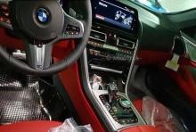 มาแล้ว ภาพหลุดภายใน BMW Series 8 เปิดประทุนใหม่ล่าสุด